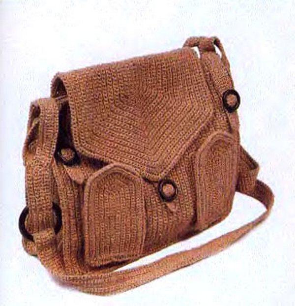 Вязаные сумки, как связать сумку, сумки с описанием, красивые вязаные Подписка на Вязание спицами, крючком, уроки